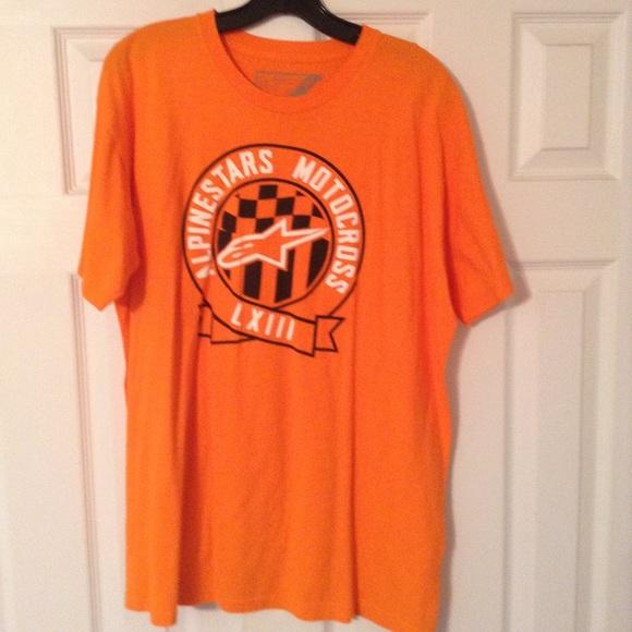 Alpinestars Other - Size Xl Alpine Star orange tshirt!